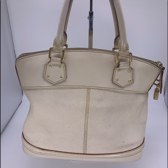 Louis Vuitton Handbags - Louis Vuitton White Suhali Lockit PM
